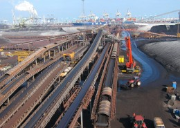 Conveyors for coal handling