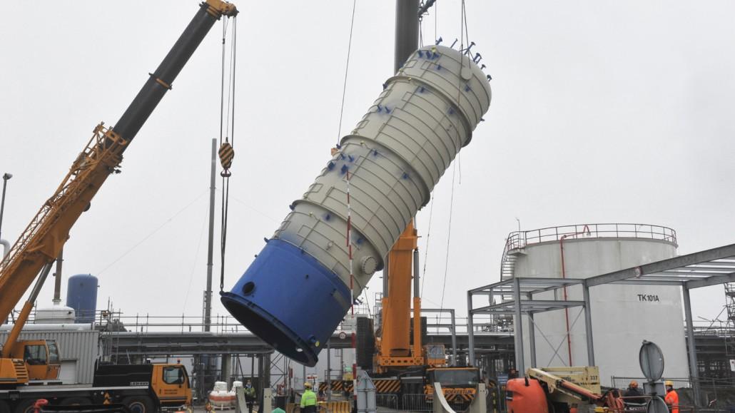 Fractionator Column And Pressure Vessel Geldof Engicon Nv