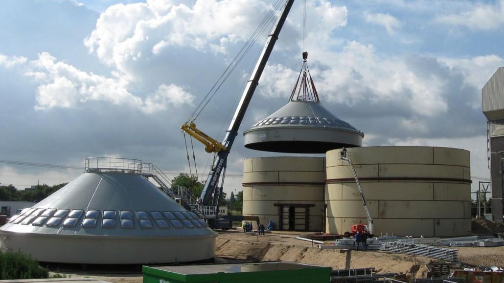Turnkey Biomass Handling Installation Geldof Engicon Nv