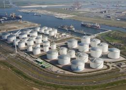 Large storage tank terminal