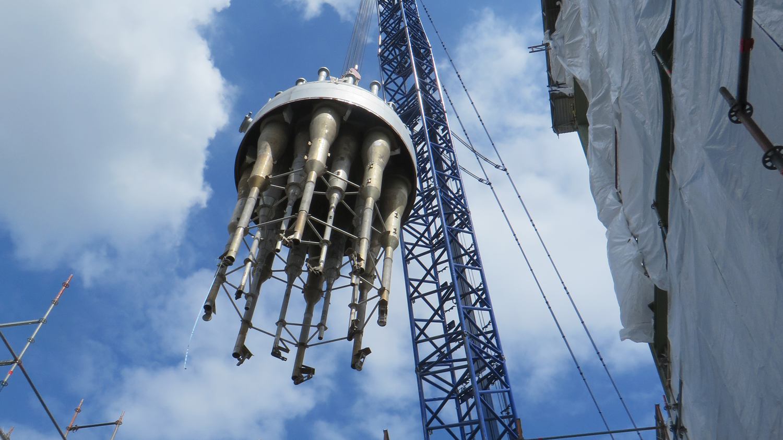 FCC regenerator top head - Geldof (Engicon nv)