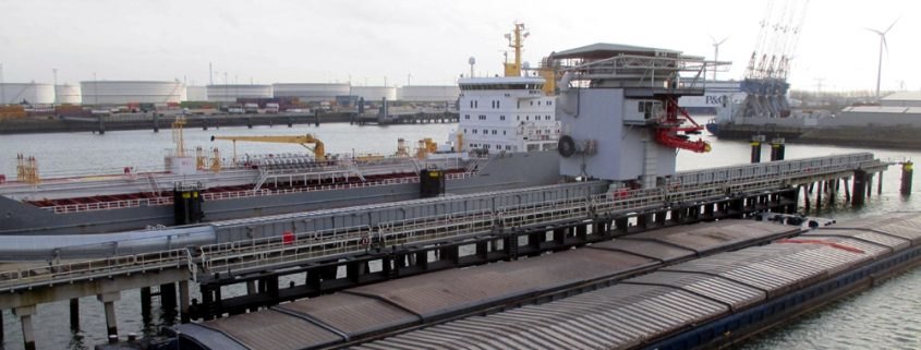 Ebs unveils new unloading installation geldof engicon nv for Ebs rotterdam