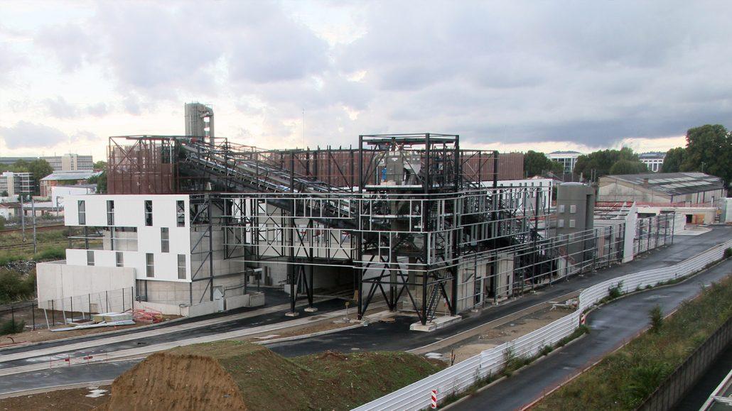Co-firing plant