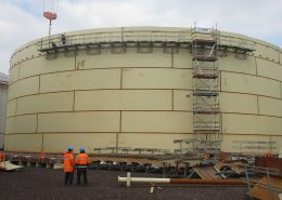 Storage tank for gasoil