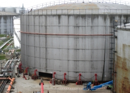 Revamp of storage tank